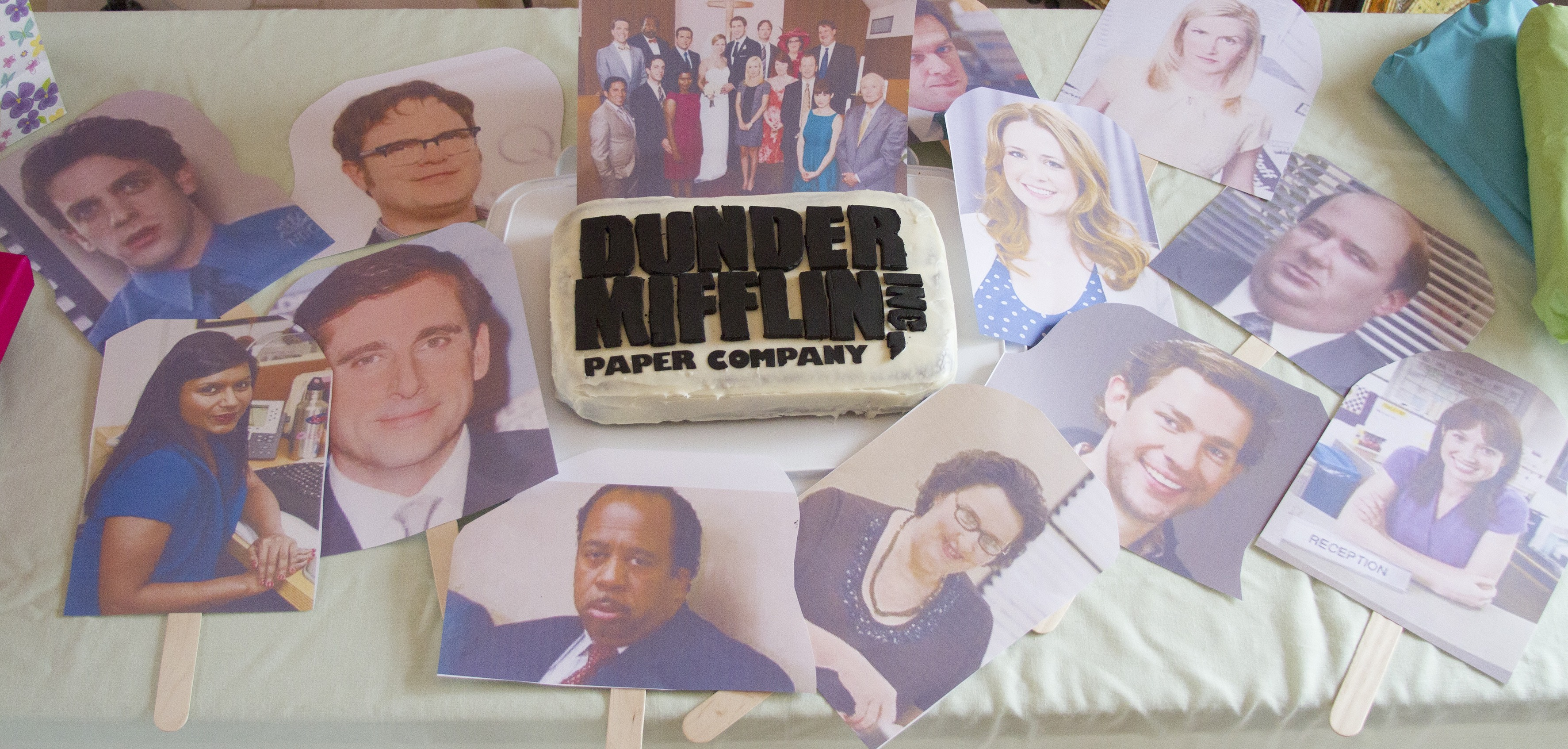 The Office Birthday Cake