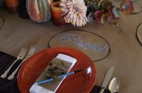 Beautiful Thanksgiving Table Centerpiece