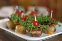 Mini Bacon-Cheeseburger Appetizers