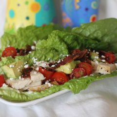 Romaine Chicken Boats!