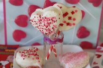 Valentine Cookie Pops!