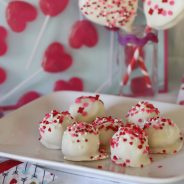 Valentine Sugar Cookie Truffles!