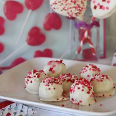 Valentine Sugar Cookie Truffles