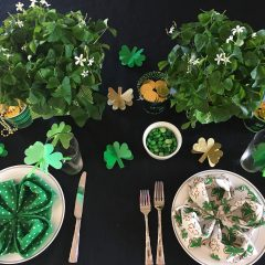 St. Patrick's Day Table Setting!