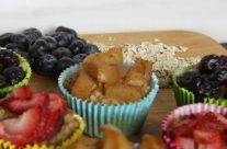 Oatmeal Blueberry Muffins-Easy, healthy & Delicious!