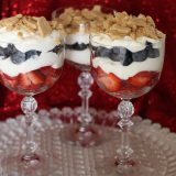 Cheesecake Fruit Parfaits!