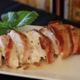 Bacon Wrapped Cheese Stuffed Chicken Breasts- On the Grill!!!