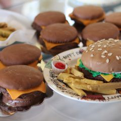 Cheeseburger Birthday Cakes!